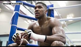 """Anthony Joshua on not facing Tyson Fury, """"I've got another challenger who's good, just as good"""""""