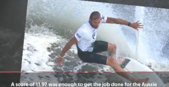 Breaking News - Wright takes out bronze in surfing