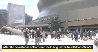Home in the Superdome - New Orleans Saints return