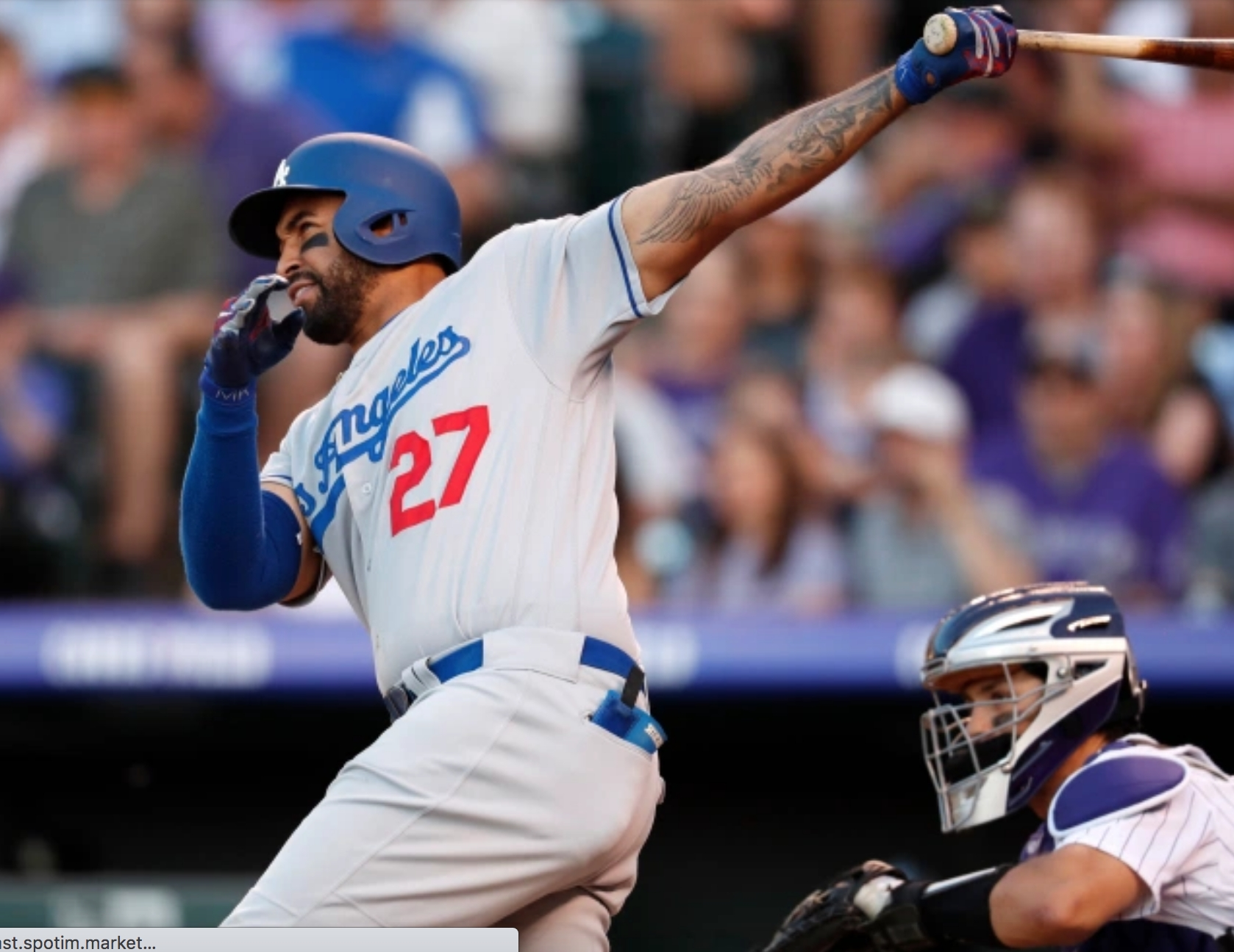MLB Moves: Rockies Sign Matt Kemp to Minor League Deal, Red Sox Add Caleb Simpson to Player Pool