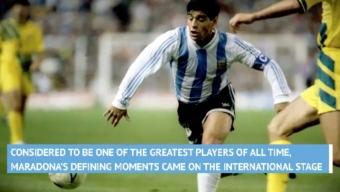 Born This Day: Argentina's Diego Maradona Turns 60