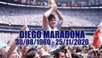 Soccer: 'Hand of God' Was Maradona's Defining Moment