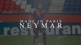 Soccer: PSG's Neymar Made in Paris