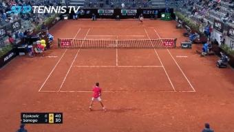 Tennis Highlights: Novak Djokovic's Double Delight Sets Up Rome Showdown With Rafael Nadal