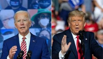 Trump says Americans are refusing to get vaccine because of Biden