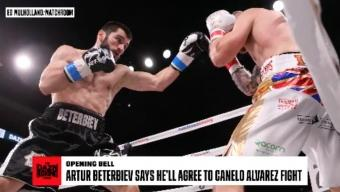 Boxing: Artur Beterbiev Says He'll Agree to Canelo Fight