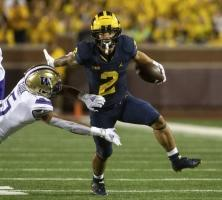 College Football: Michigan's Blake Corum and Michigan State's Jayden Reed Among Paul Hornung Award Honor Roll Selections