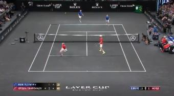 Tennis Highlights: Europe Wins Fourth Consecutive Laver Cup With a Stunning 14-1 Performance