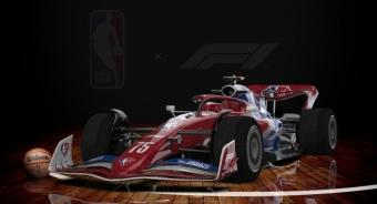 NBA: Promotion Partnership With F1 to Celebrate the NBA's 75th Anniversary Season and the United States Grand Prix