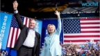 Clinton Opposes Bill Backed By Running Mate Kaine