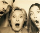 Justin Timberlake, Jessica Biel, and Hillary Clinton Hit Photobooth at Fundraiser