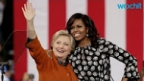 Hillary Clinton and Michelle Obama Hold Rally in North Carolina
