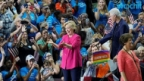 Hillary Clinton Continues Campaign After DNC
