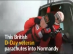 75 years after D-Day jump, British veterans parachute into Normandy
