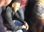 Neymar Arrives at Police Station in a Wheelchair