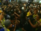 Global Times: man held by HK protesters was their reporter