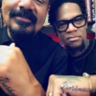 George Lopez and D.L. Hughley Get Matching Tattoos to Honor Charlie Murphy