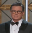 Stephen Colbert Banks on Trump Humor with Surprise Guest Sean Spicer at Emmy Awards