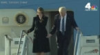 Melania Trump Continues to Brush Off Donald Trump During Overseas Trip