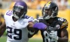 NFL: High School Friends Antonio Brown & Xavier Rhodes Battle as Pros