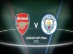 League Cup Final: Arsenal v Manchester City in Words and Numbers
