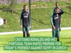Ronaldo and Portugal Prepare for Egypt Clash