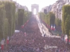 French World Cup Team Returns to Heroes' Victory Parade