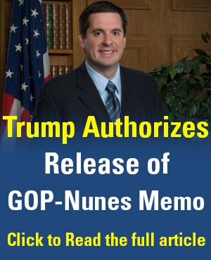 Trump Authorizes Release of GOP-Nunes Memo