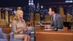 Jimmy Fallon Peeks Up Heidi Klum's Dress, Forms Human Wheel and Then Tries it German Style