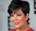 Kris Jenner Is Wearing A Giant Red Tablecloth