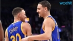Klay Thompson Upsets Steph Curry in NBA 3-point Shootout